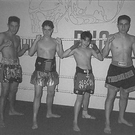 Team Pasztjerik jeugd kickboksen schiedam sinds 1994
