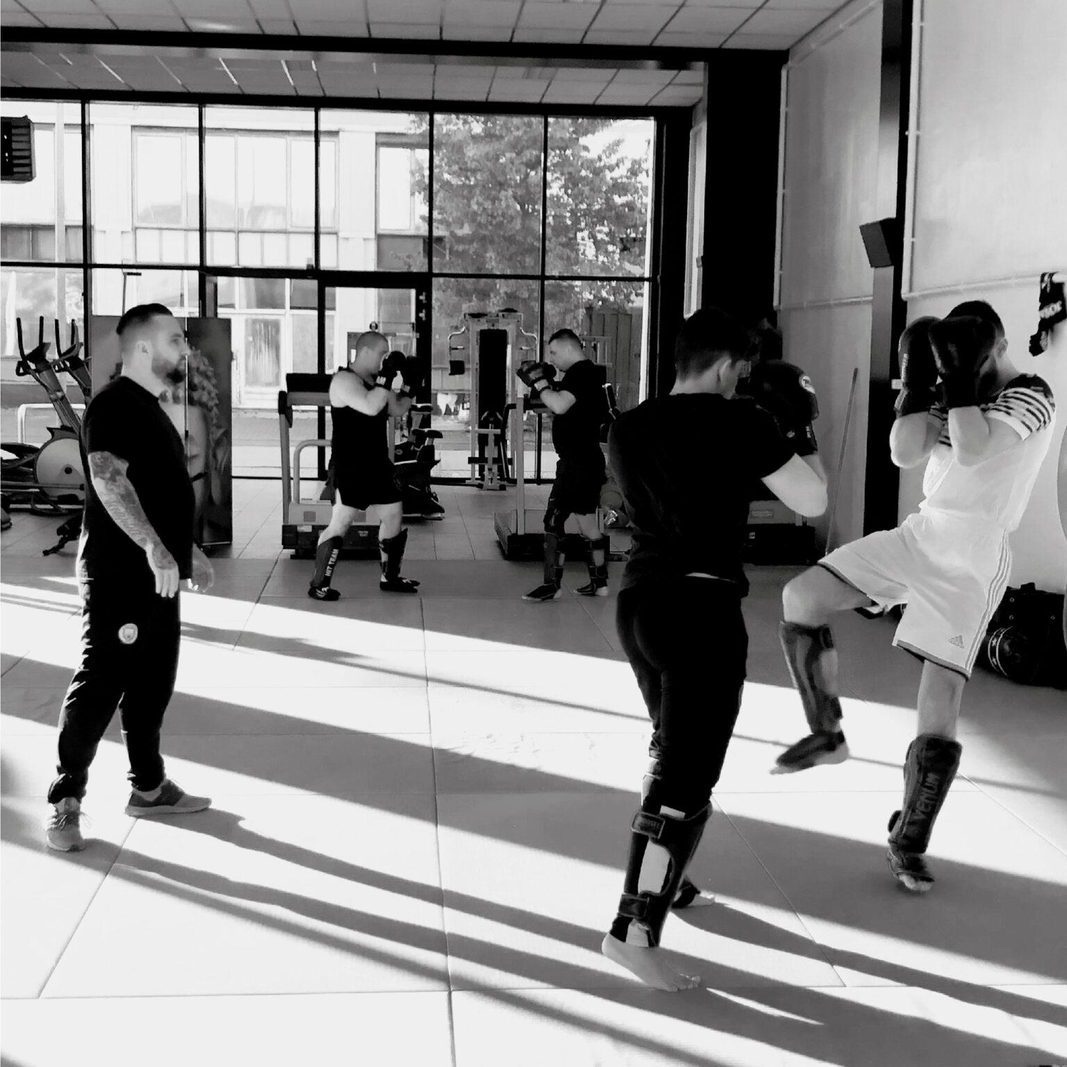 Kickboksles bij Team Pastzjerik